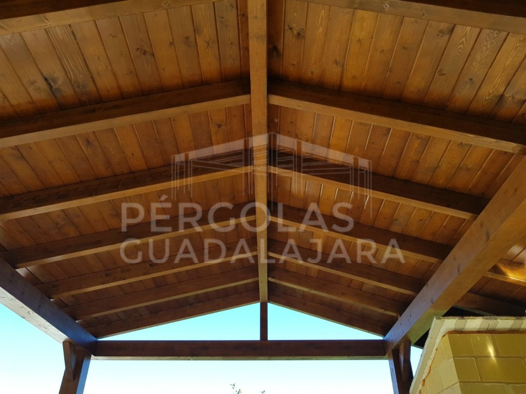 Cenadores de madera para jard n en madrid - Cenadores de madera precios ...