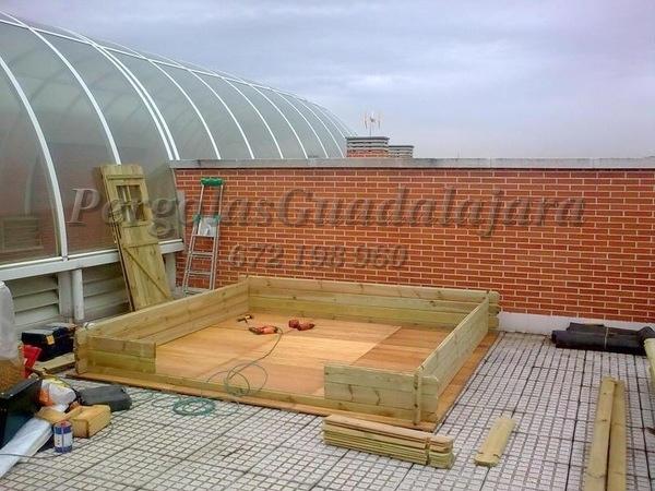 Proyectos de carpinter a p rgolas guadalajara for Estructuras de jardin