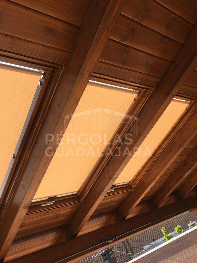 porche madera velux - Porches Rusticos