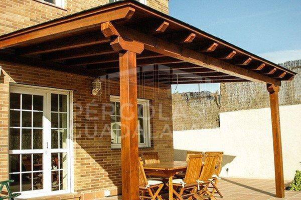 P rgolas y porches de madera en madrid y guadalajara - Pergolas y porches de madera ...