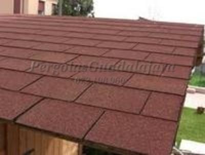 Cubiertas para porches p rgolas guadalajara for Tejados de madera vizcaya