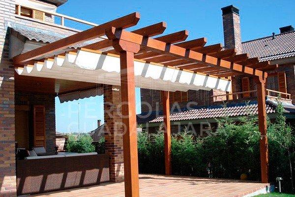 p rgolas y porches de madera en madrid y guadalajara