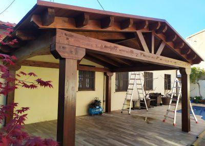 Cenadores de madera - Portada 2