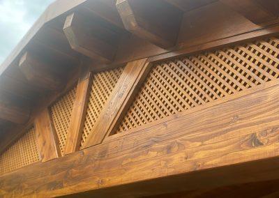 Cenadores de madera - Portada 3